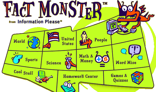 Fact monster from Information Please